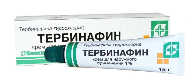 Terbinafinas nuo nagų mikozės